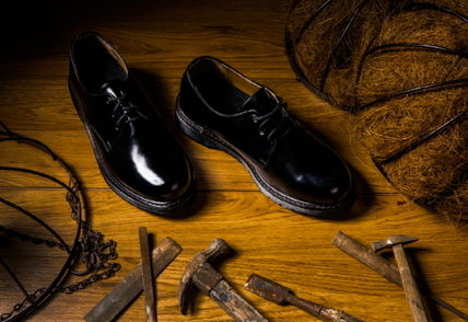 Collaboration Leather Oxfords