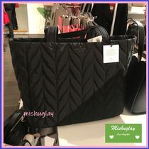 kate spade new york Casual Style Nylon A4 Plain Totes
