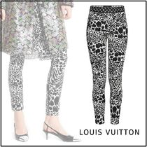 Louis Vuitton 2019-20AW LEGGINGS WITH ELASTIC BELT black 34-40 pants