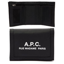 A.P.C. Nylon Plain Folding Wallets
