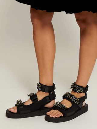 Casual Style Street Style Plain Sandals