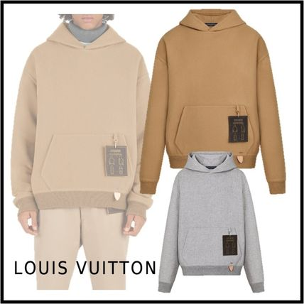Louis Vuitton Hoodies 2019-20AW DOUBLE FACE HOODY XS-3L beige Grimetal hoodies