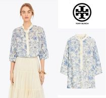 Tory Burch Silk Other Animal Patterns Shirts & Blouses