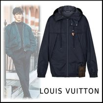 Louis Vuitton 2019-20AWNYLON RAIN HOODY BLOUSON black 44-56 jackets