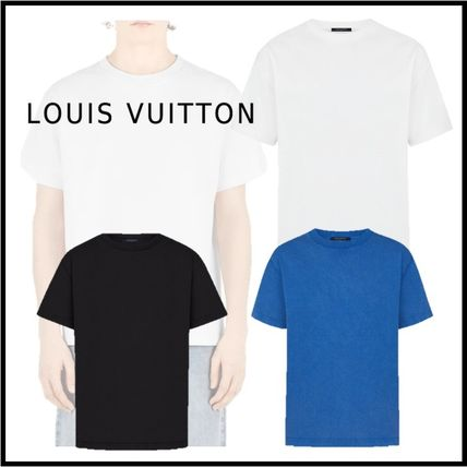 Louis Vuitton Crew Neck 2019-20AW INSIDE OUT T-SHIRT bronle, noir, ocean XS-4L