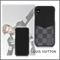 Louis Vuitton 2019-20AW IPHONE XS MAX BUMPER black one size iphone case