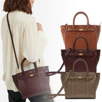 Mulberry Bayswater 2WAY Plain Leather Shoulder Bags