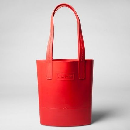 Casual Style Collaboration A4 Plain Totes