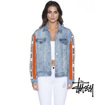 STUSSY Casual Style Unisex Street Style Outerwear