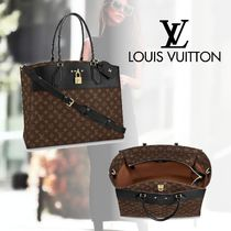 Louis Vuitton CITY STEAMER Monogram 2WAY Handbags