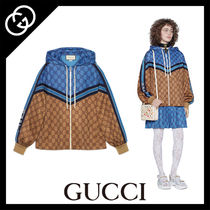 GUCCI Short Monogram Casual Style Street Style Jackets