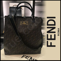 FENDI Monogram 2WAY Totes