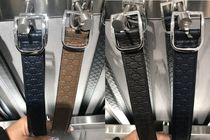 GUCCI Leather Logo Belts