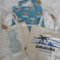 Patagonia Tropical Patterns Canvas A4 Totes