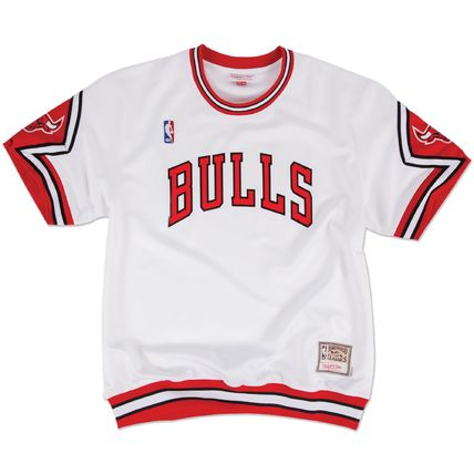 Mitchell&Ness More T-Shirts Unisex Street Style Short Sleeves Logos on the Sleeves Logo 3