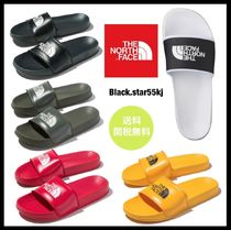 THE NORTH FACE Blended Fabrics Street Style Shower Shoes PVC Clothing