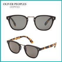 OLIVER PEOPLES Unisex Street Style Square Sunglasses