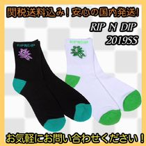 RIPNDIP Unisex Street Style Socks & Tights