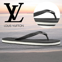 Louis Vuitton Monogram Blended Fabrics Street Style Sport Sandals