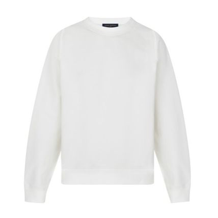 Louis Vuitton Sweatshirts Long Sleeves Plain Cotton Sweatshirts 2