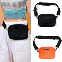 NASTYKICK Casual Style Street Style Plain Shoulder Bags