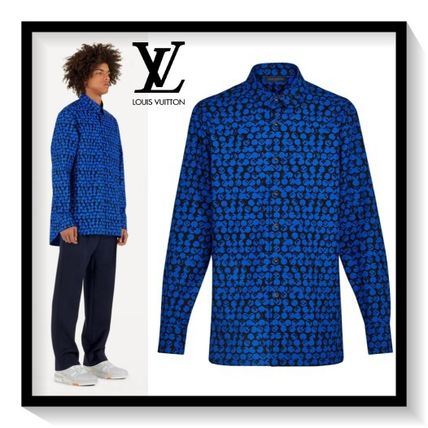Louis Vuitton Shirts Monogram Cotton Shirts