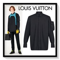 Louis Vuitton Long Sleeves Plain Cotton Shirts