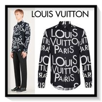 Louis Vuitton Silk Long Sleeves Shirts