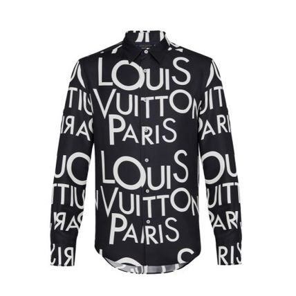 Louis Vuitton Shirts Silk Long Sleeves Shirts 2