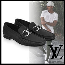 Louis Vuitton MONTAIGNE Loafers Plain Leather Loafers & Slip-ons