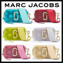 MARC JACOBS Snapshot Dots Casual Style Crystal Clear Bags PVC Clothing