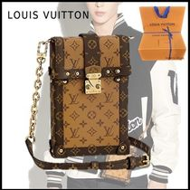 Louis Vuitton 2019-20AW POCHETTE TRUNK VERTICALE monogram free bag