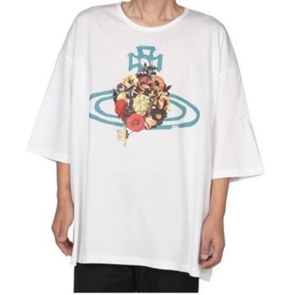 Vivienne Westwood More T-Shirts Unisex Cotton Short Sleeves T-Shirts 4