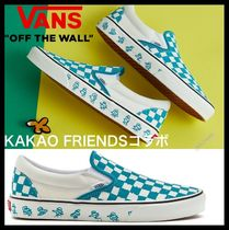 VANS Casual Style Unisex Street Style Slip-On Shoes