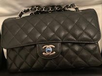 CHANEL MATELASSE 2WAY Plain Leather Party Style Elegant Style Formal Style