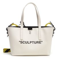 Off-White Canvas Totes