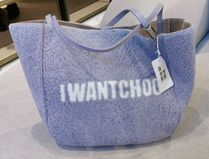 Jimmy Choo Casual Style Fur Blended Fabrics 2WAY Plain Totes
