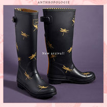 Anthropologie Blended Fabrics Collaboration Plain Rain Boots Boots