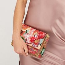Accessorize Flower Patterns Party Style Clutches