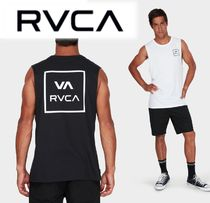RVCA Plain Cotton Tanks