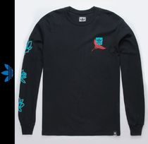 adidas Street Style Long Sleeves Logos on the Sleeves