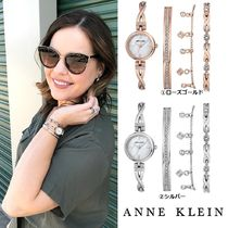 Anne Klein Chain Jewelry Watches Stainless Elegant Style Analog Watches