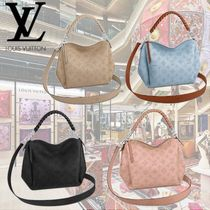 Louis Vuitton MAHINA Monogram 2WAY Leather Elegant Style Totes