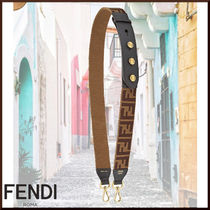 FENDI STRAP YOU Studded Leather Bags