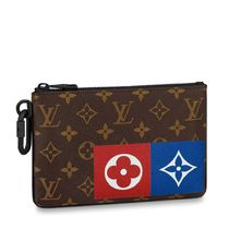 Louis Vuitton MONOGRAM Zipped Pouch Mm