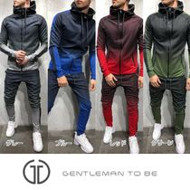 Gentleman To Be Street Style Top-bottom sets