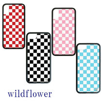 Wildflower Other Check Patterns Bi-color Smart Phone Cases