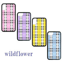 Wildflower Other Check Patterns Smart Phone Cases