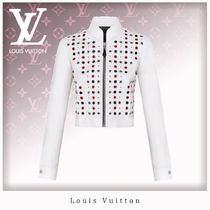 Louis Vuitton Casual Style Unisex Leather Jackets