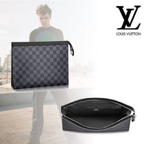 Louis Vuitton DAMIER GRAPHITE Canvas Bags